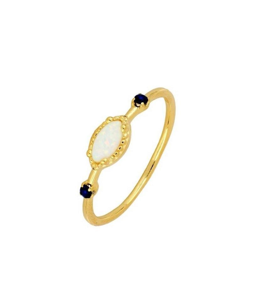 opaal spinel ring